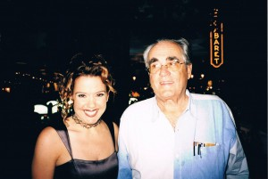 With Michel Legrand in Las Vegas